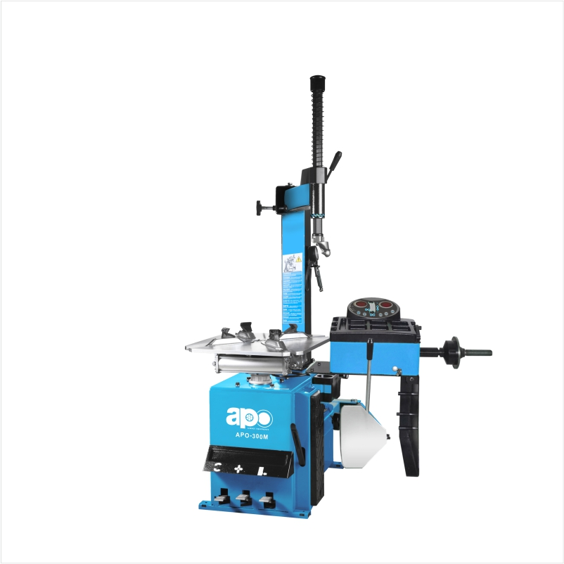 APO-300M ALL-IN-ONE Tyre Changer & Wheel Balancer