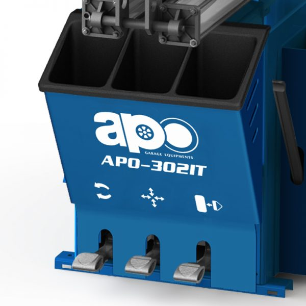 APO-302IT SEMI-AUTOMATIC SWING ARM TIRE CHANGER