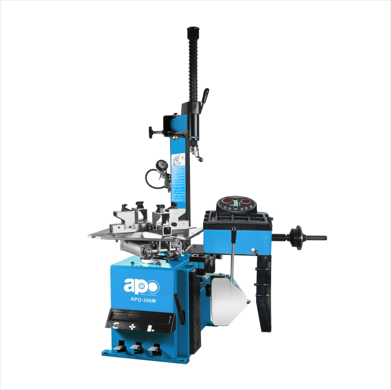 APO-306M ALL-IN-ONE Tyre Changer & Wheel Balancer