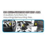 APO-3095IT Semi-Automatic Swing Arm Tire Changer