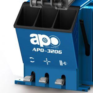 APO-3206 Semi-Automatic Swing Arm Tire Changer