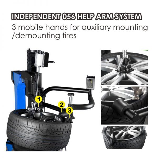 APO-3256IT Arm Wheel Clamp Tire Changer