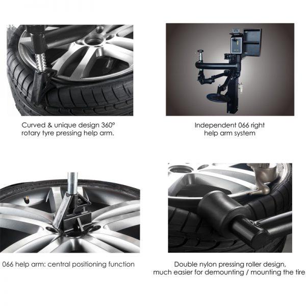 APO-3266 Arm Wheel Clamp Tire Changer