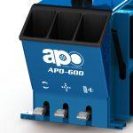 APO-600 Semi-Automatic Swing Arm Tire Changer