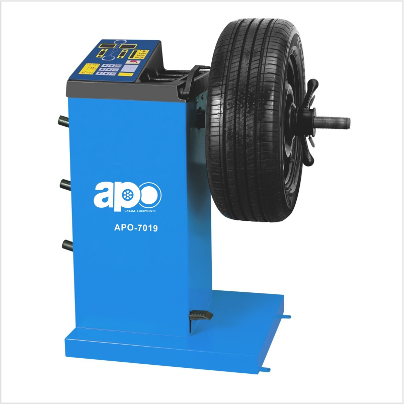APO-7019 Self-Calibrating Wheel Balancer