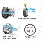 APO-7019 Self-Calibrating Wheel Balancer