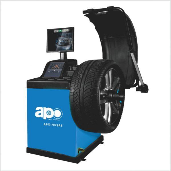 APO-7079AS Self-Calibrating Wheel Balancer