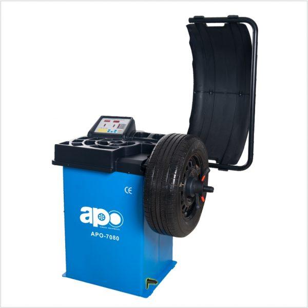 APO-7080 Self-Calibrating Wheel Balancer