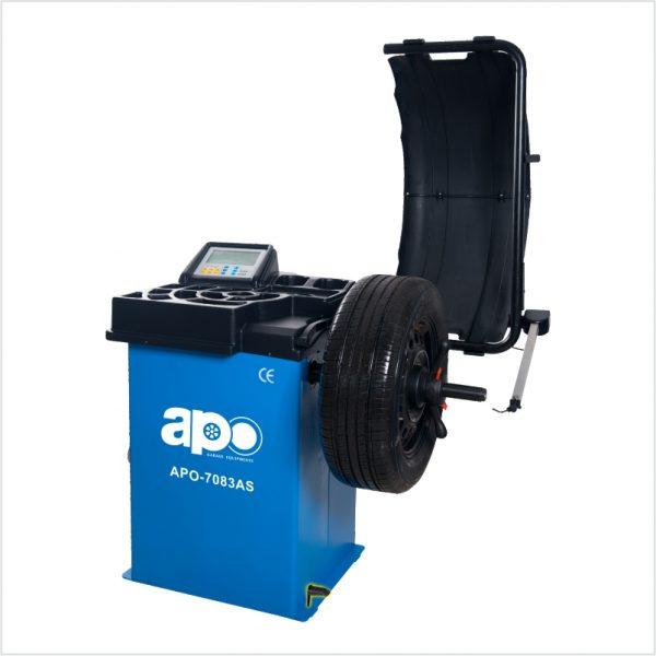APO-7083AS Self-Calibrating Wheel Balancer