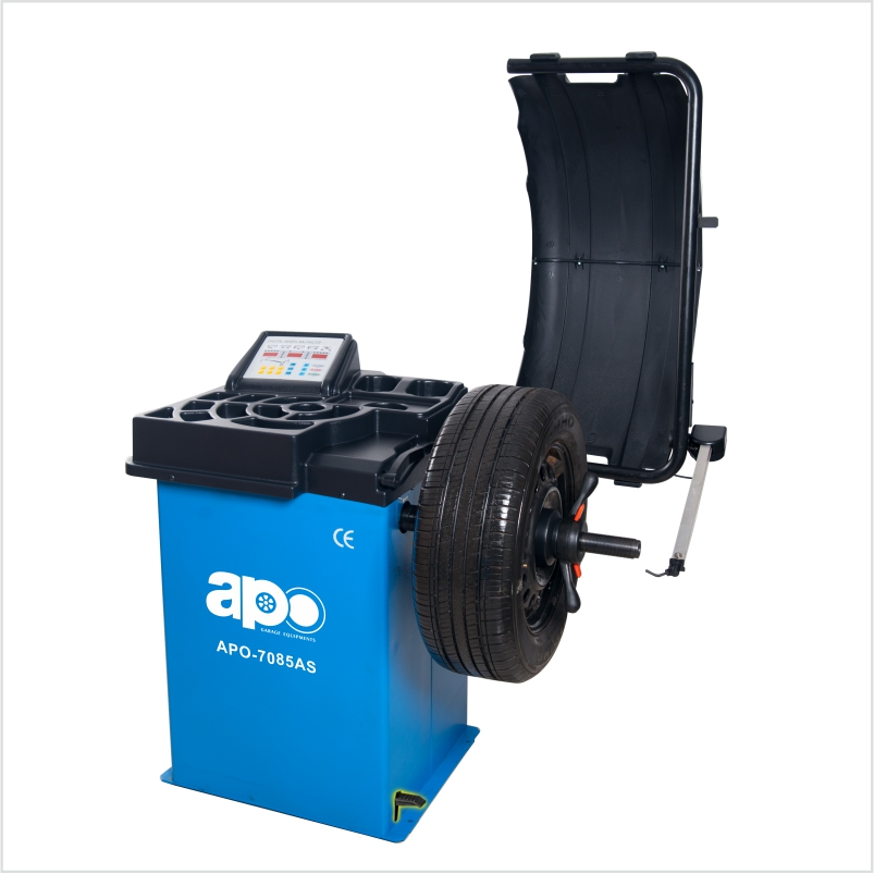 APO-7085AS Self-Calibrating Wheel Balancer