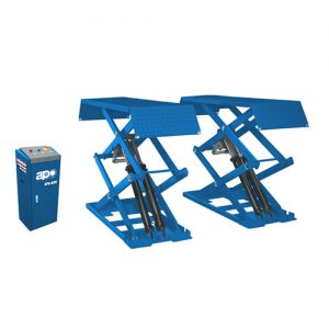 3.0 T Capacity APO-B30/APO-B30Y Ultra-Thin Wheel Free Scissor Lift